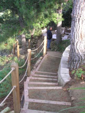 Landscape Features Paths Stairs Bridges